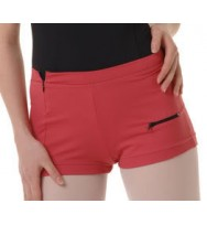 Capezio HW508 Womens Side Zip Booty Shorts